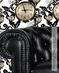Tapete: Floating Clocks Big, col.02