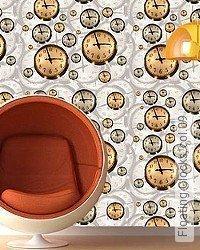 Tapete: Floating Clocks, col.09