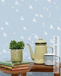 Tapete: Star-ling, powder blue