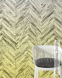 Tapete: Herringbone, Yellow