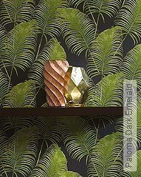 Tapete: Paloma Dark Emerald