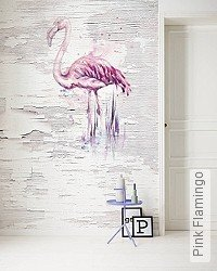 Tapete: Pink Flamingo
