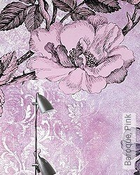 Tapete: Baroque, Pink