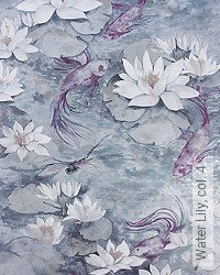 Tapete: Water Lily, col. 4