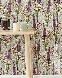 Tapete: Foxtail Lily, taupe