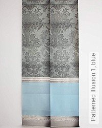 Tapete: Patterned Illusion 1, blue