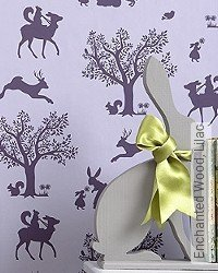 Tapete: Enchanted Wood, Lilac