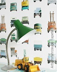 Tapete: Arbeitsfahrzeuge Tapete