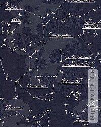 Tapete: Night Sky, Ink Blue