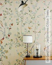 Tapete: de Gournay - Jardinieres Citrus Trees