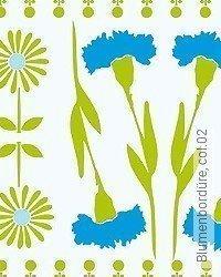 Tapete: Blumenbordüre, col.02