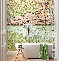 Preis:89,90 EUR - Kollektion(en): - Badezimmer - Vliestapeten