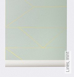 Tapete: Lines, mint