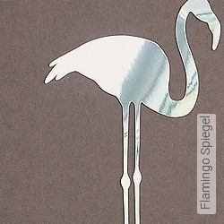 Accessoires: Flamingo Spiegel