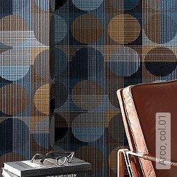 Preis:56,00 EUR - Kollektion(en): - RetroTapeten / Tapeten mit Retro-Muster