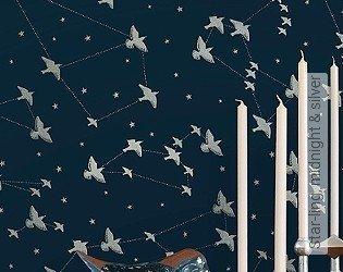 Bild Tapete - Star-ling, midnight & silver
