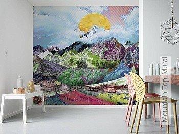 Tapete  - FotoTapete Mountain Top, Mural