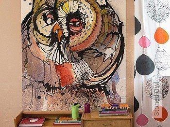 Tapete  - FotoTapete Stoned Owl