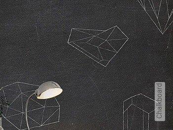 Tapete  - FotoTapete Chalkboard