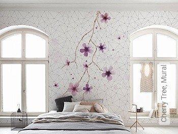 Tapete: Cherry Tree, Mural