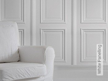 Tapete: White Panelling