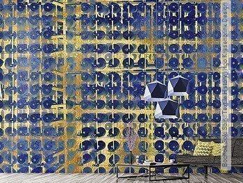 Tapete: Bocholt Gold Spin | Textile History | Ingo Krasenbrink Design