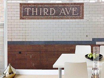 Tapete: Third Avenue