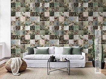 Tapete: Birds of Paradise, Tiles