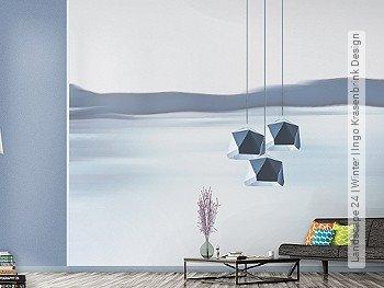 Tapete: Landscape 24 | Winter | Ingo Krasenbrink Design