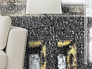 Tapete: Brandenburg Gate | Typography paints History| Ingo Krasenbrink Design
