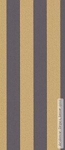 Tapete  - Streifentapeten Anakreon Stripes, brown gold