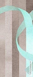 Tapete: Twirl 2, turquoise