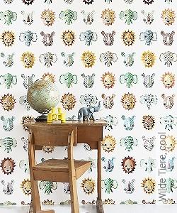 Preis:135,00 EUR - Kollektion(en): - Animal Print - KinderTapeten