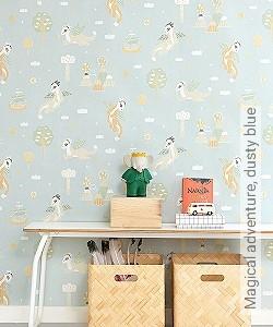 Preis:83,00 EUR - Kollektion(en): - Pastelltöne - KinderTapeten