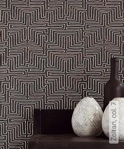 Preis:52,00 EUR - Kollektion(en): - Schwarz und Weiß - NEUE Tapeten