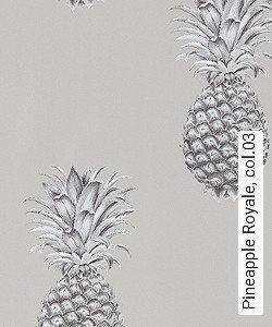 Tapete  - Exotische Tapeten Pineapple Royale, 03