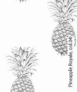Tapete  - Exotische Tapeten Pineapple Royale, 04