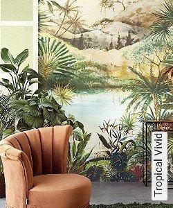 Tapete  - Exotische Tapeten Tropical Vivid