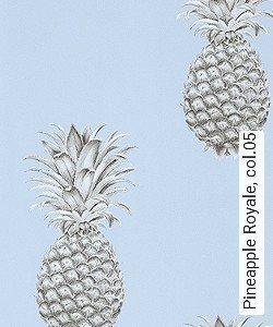 Tapete  - Exotische Tapeten Pineapple Royale, 05