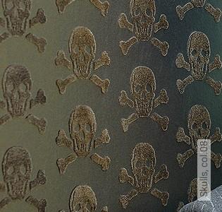 Bild Tapete - Skulls, col.08