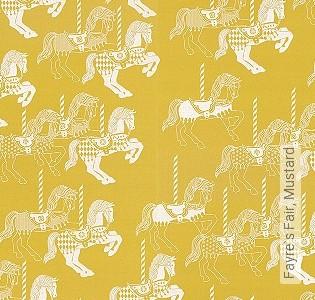 Bild Tapete - Fayre`s Fair, Mustard
