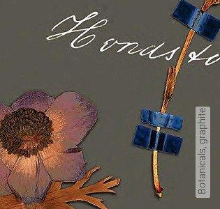 Bild Tapete - Botanicals, graphite