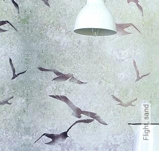 Bild Tapete - Flight, sand