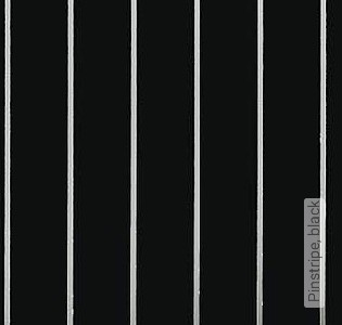 Bild Tapete - Pinstripe, black
