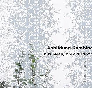 Bild Tapete - Bloom, grey