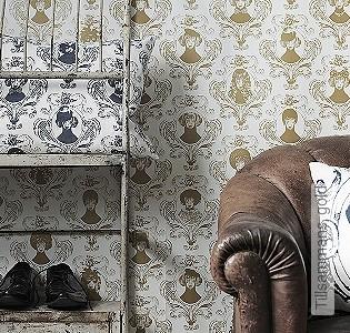 Bild Tapete - Tillsammans, gold