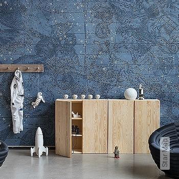 Preis:378,30 EUR - Kollektion(en): - Blau - FotoTapete