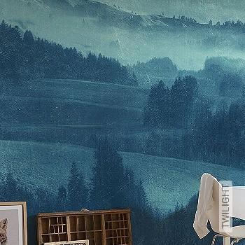 Preis:170,10 EUR - Kollektion(en): - Blau - NEUE Tapeten