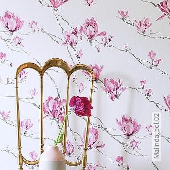 Preis:49,95 EUR - Kollektion(en): - Blumen - NEUE Tapeten