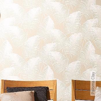 Preis:77,00 EUR - Kollektion(en): - Braun - EN15102/EN13501.B-s1 d0 - Blätter - Creme